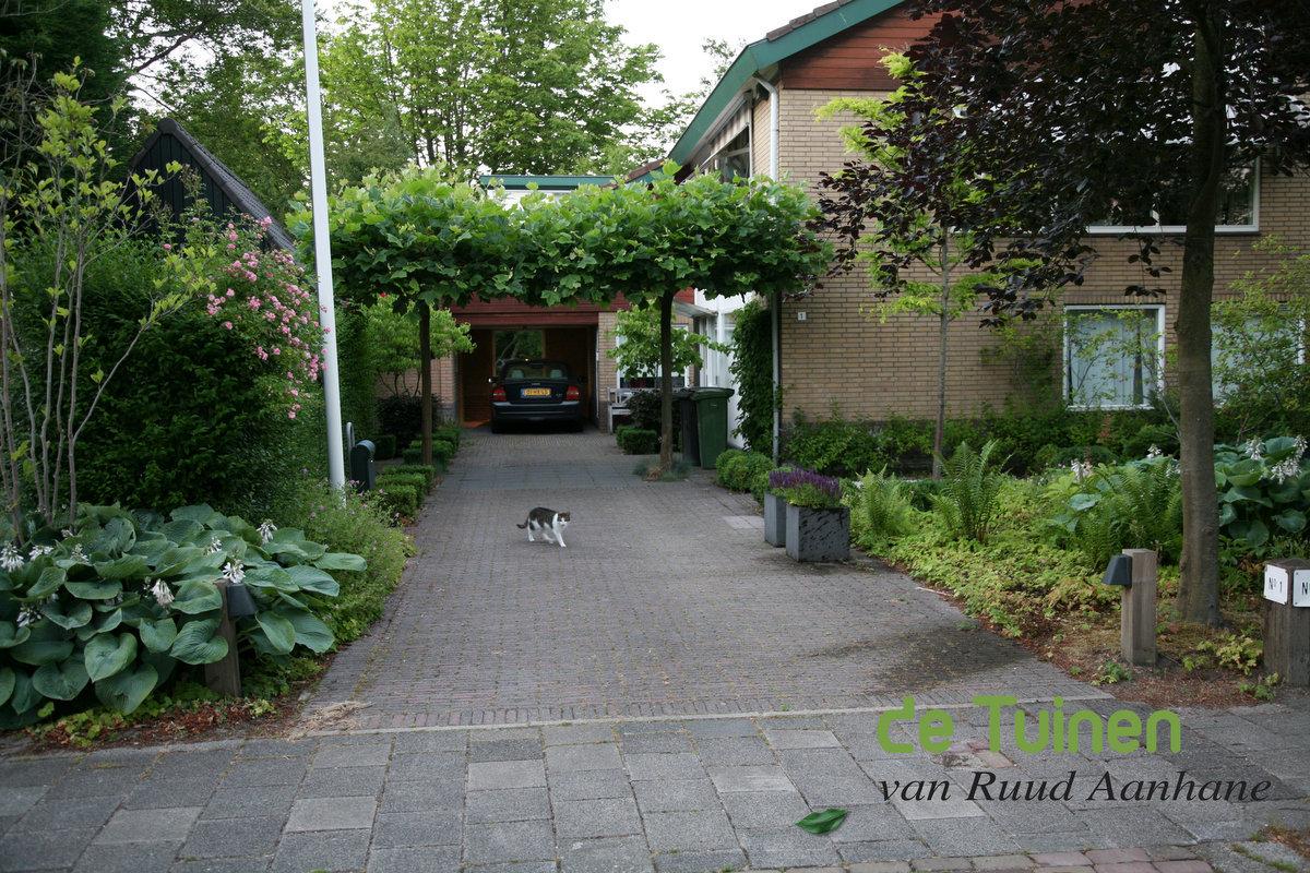 Gerealiseerde projecten de tuinen van ruud aanhane - Oprit idee ...